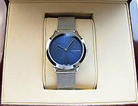 Годинник Clavin Klein 33mm Silver Blue Quartz. Репліка