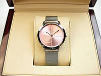 Годинник Clavin Klein 33mm Silver Pink Quartz. Репліка