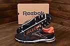 Чоловічі кросівки літні сітка Reebok коричневі (репліка), фото 2