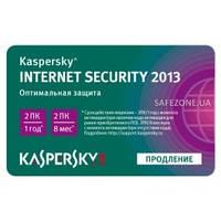 Kaspersky  Internet Security 2014-2015, продление, 1год 2ПК