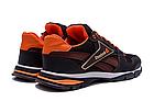 Чоловічі кросівки літні сітка Reebok коричневі (репліка), фото 5