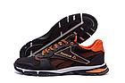 Чоловічі кросівки літні сітка Reebok коричневі (репліка), фото 6