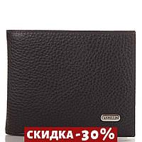 Кошелек или Портмоне Canpellini Мужской кожаный кошелек Черный
