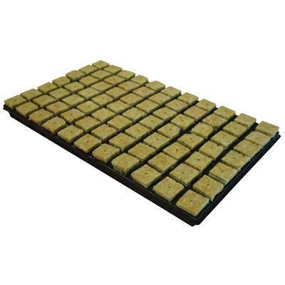 Кубики из минеральной ваты Cultilène в кассете 3,5x3,5 77 шт, фото 2