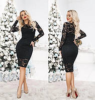 Модное гипюровое платье Люсия