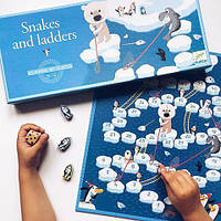 Настольная игра-бродилка Djeco (Джеко) Сачки и лестницы