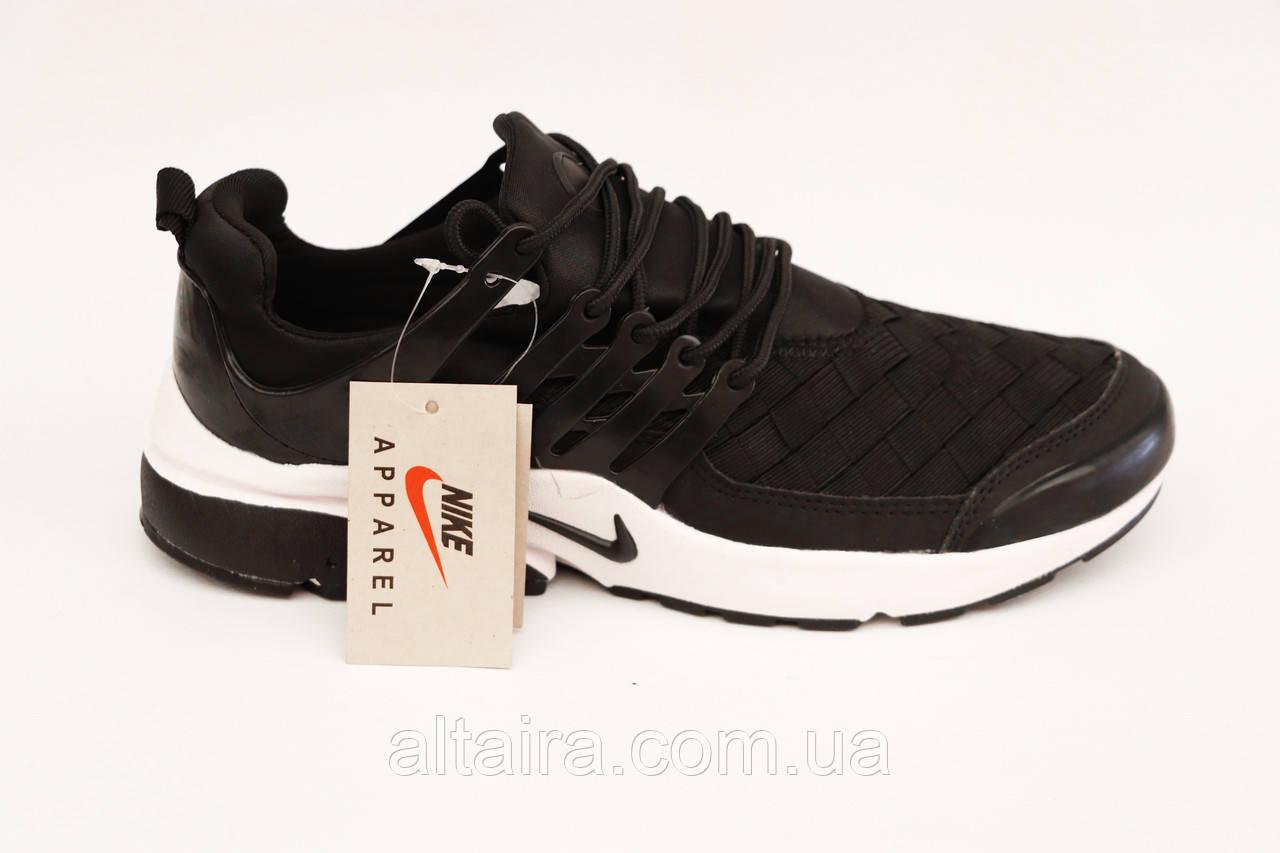 Кросівки в стилі Nike чоловічі чорні