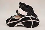 Кросівки в стилі Nike чоловічі чорні, фото 6