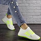 Кросівки жіночі білі, фото 4