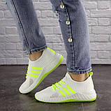 Кросівки жіночі білі, фото 7