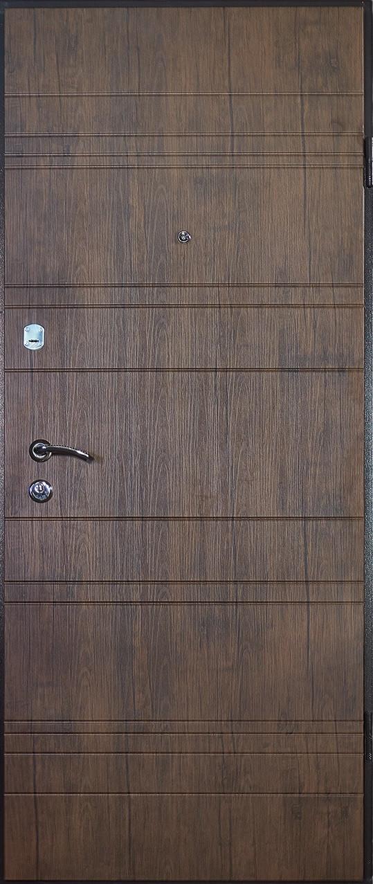 Входная металлическая дверь М-2 старое дерево