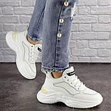 Кроссовки женские белые, фото 2