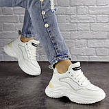 Кроссовки женские белые, фото 3