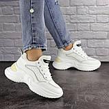 Кроссовки женские белые, фото 4