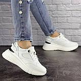 Кросівки жіночі білі, фото 2