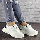 Кросівки жіночі білі, фото 6