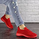 Кроссовки женские красные, фото 2