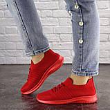 Кроссовки женские красные, фото 6