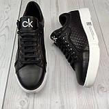 Чоловічі кеди Calvin Klein OS039 чорні, фото 4