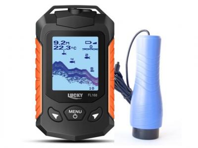 Проводной эхолот Lucky FL168-Ice цветной экран для подводной рыбалки