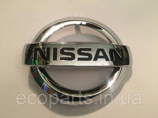 Передня емблема Nissan Leaf 2018, фото 2