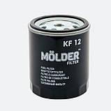 Фильтр топливный MOLDER KF12 (аналог WF8047/KC22/WK716), фото 2