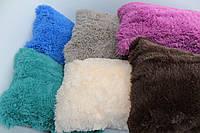 Декоративная подушка 50*70 см махра травка