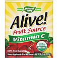 """Витамин С из ацеролы Nature's Way """"Alive! Fruit Source Vitamin C"""" в порошке, 500 мг (120 г), фото 2"""