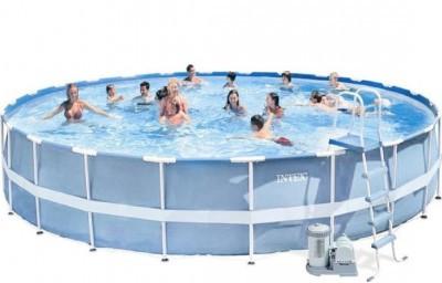 Каркасний басейн Intex Prism Frame Pool 28672 732 см х 132 см