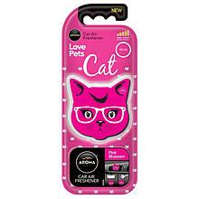 Ароматизатор Aroma Car Cat Pink Blossom Розовое цветение 92568