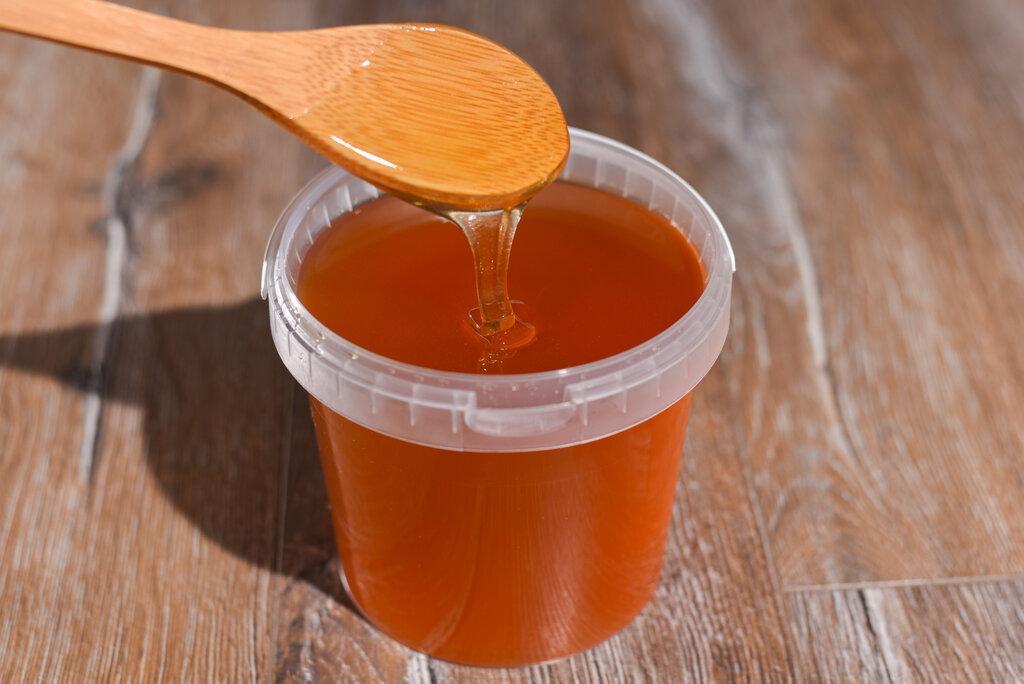 Мед квітковий натуральний 0,5 л