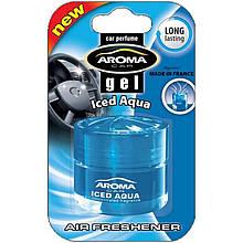 Ароматизатор Aroma Car Gel Iced Aqua Холодная вода