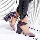 Туфли из натуральной кожи мокко, фото 3