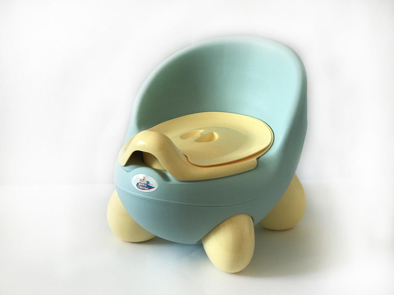 """Детский горшок-кресло """"Pasa"""" Irak Plastik, голубой"""