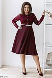 Стильное платье   (размеры 48-58) 0239-37, фото 2