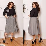 Стильное платье   (размеры 48-58) 0239-41, фото 3