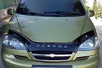 Дефлектор капота (мухобойка) Chevrolet Tacuma 2004-2008 Rezzo, Vip Tuning, CH08