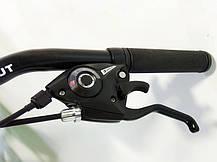 "Подростковый горный велосипед Azimut Extreme 24 размер рамы 13"" GD BLACK-RED, фото 2"