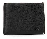 Мужской кожаный прочный стильный кошелек зажим H.Verde art. A071, фото 1