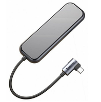 Адаптер Baseus Multi-functional Hub USB-C to 4xUSB 3.0/PD
