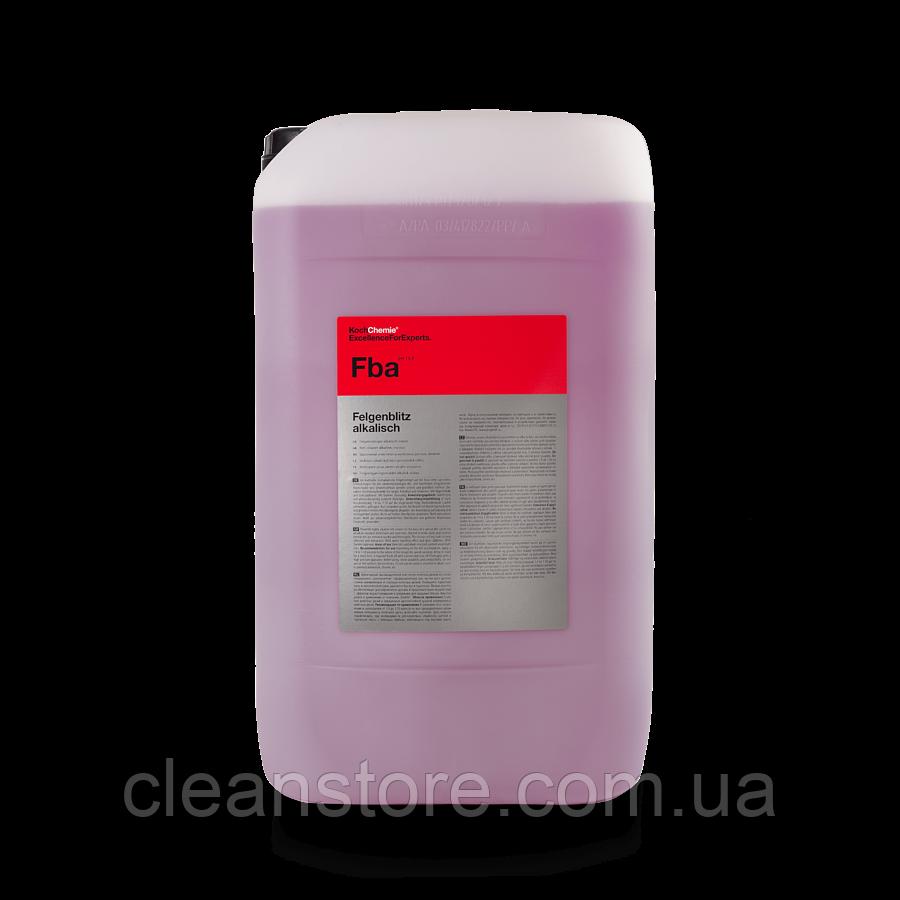 FELGENBLITZ alkalisch очиститель дисков щелочной, без кислот, 30 л.