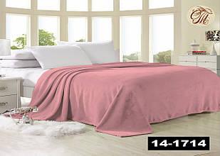 Плед з флісу Рожевий (розмір 160х210)