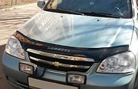 Дефлектор капота (мухобойка) Chevrolet Lacetti 2003- sedan, универсал, Vip Tuning, CH05