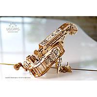 Музыкальная модель Харди-Гарди (Лира)  (292 детали)- механический 3D пазл