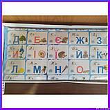 """Обуающий плакат для дітей """"Кмітлива абетка"""" укр 7027, фото 3"""
