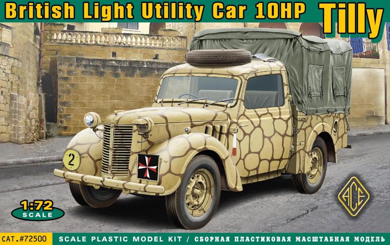 Британский легкий грузовик Tilly 10hp. 1/72 ACE 72500