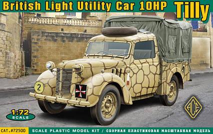 Британский легкий грузовик Tilly 10hp. 1/72 ACE 72500, фото 2
