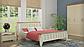 Кровать деревянная Марсель 140х200 Mebigrand сосна белая, фото 6