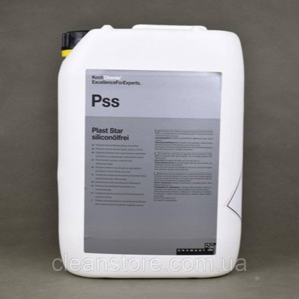 PLAST STAR SILICONOLFREI уход за резиной, пластиком, без силикона, 10 л.