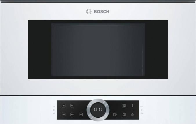 Встраиваемая микроволновая печь Bosch BFR 634GW1, фото 2